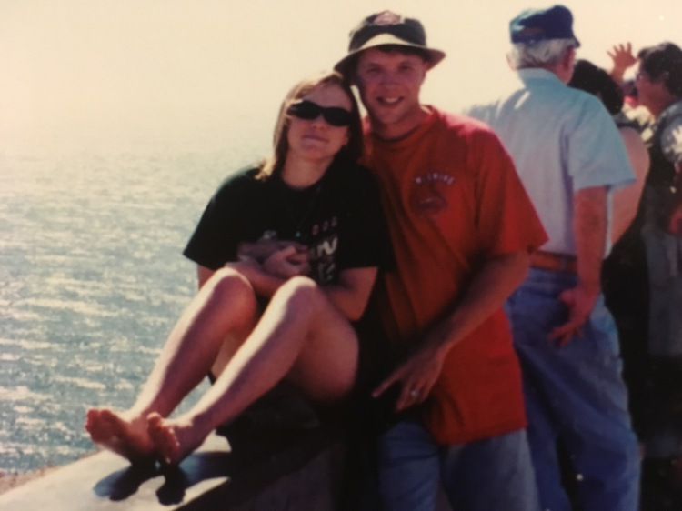 From our honeymoon on the Gulf of California, San Carlos, Mexico, Nov 1999.
