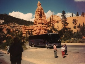 Another spot in southern Utah, with a good look at one of the Silverado Stages buses