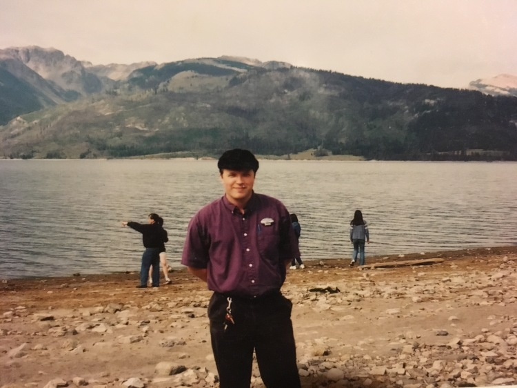 "Jackson Lake, Wyoming. That name tag really did say ""Pedro"""