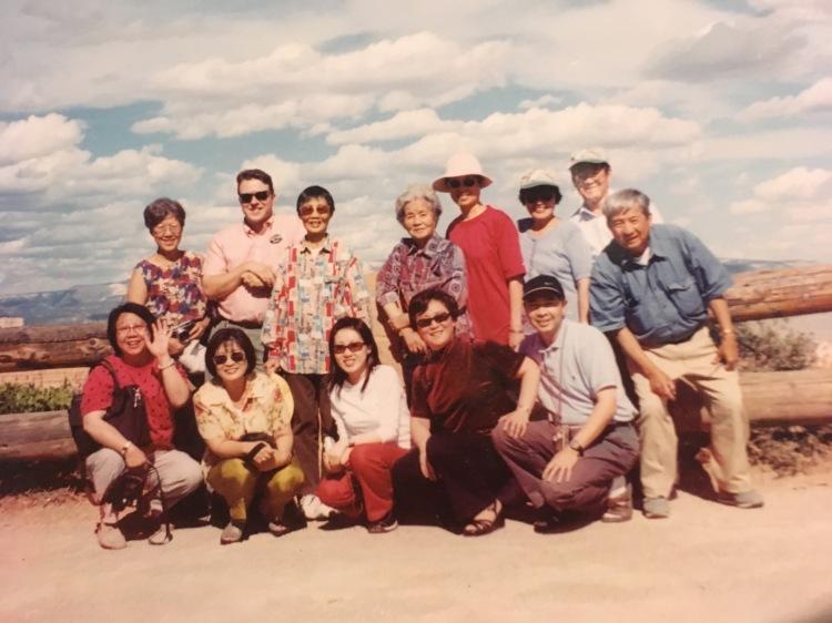 Group photo at Bryce Canyon, Utah