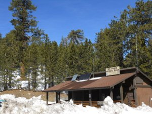 "The lodge near the summit of Mount Pinos, or ""Azucar Mountain."" Birding location #2"